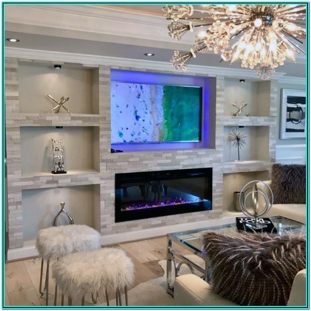 Living Room Niche Cabinet Ideas
