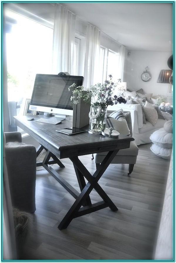 Living Room No Desk Ideas