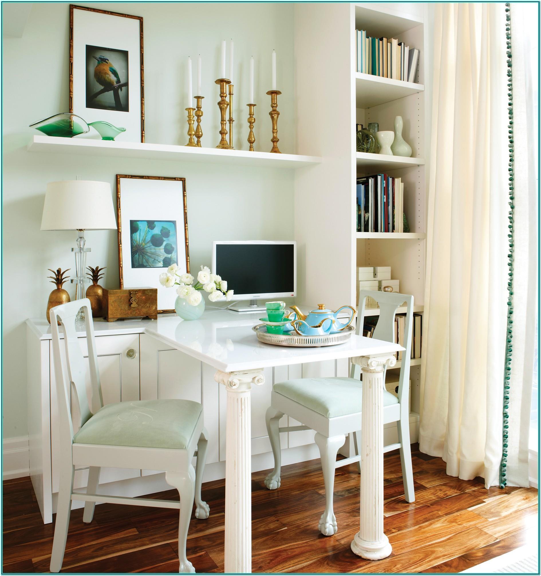 Living Room Office Design Ideas