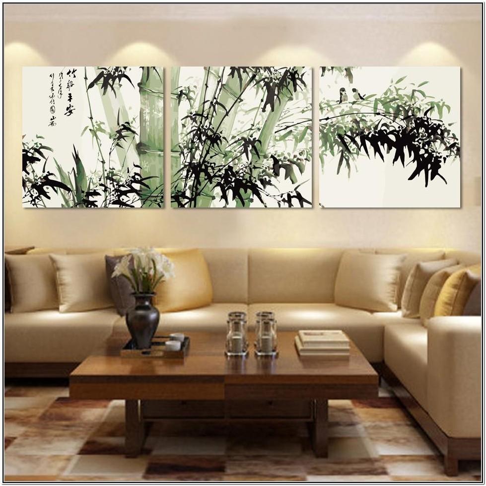 Living Room Photo Canvas Wall Ideas