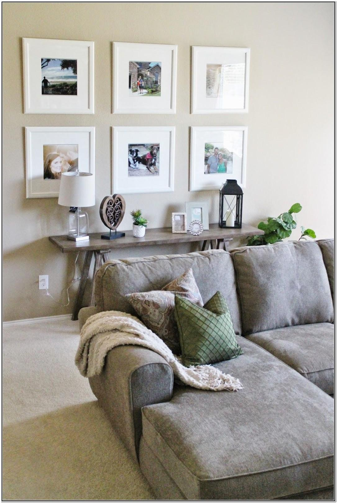 Living Room Picture Frame Arrangements On Wall Ideas