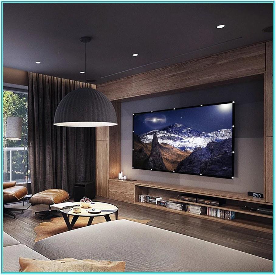 Living Room Projector Ideas