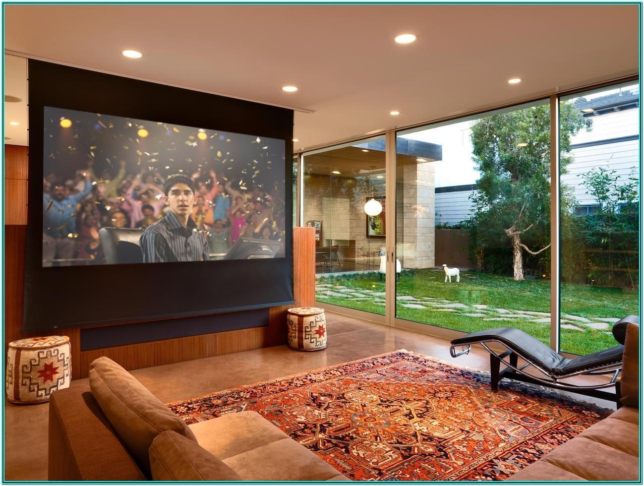 Living Room Projector Mount Ideas