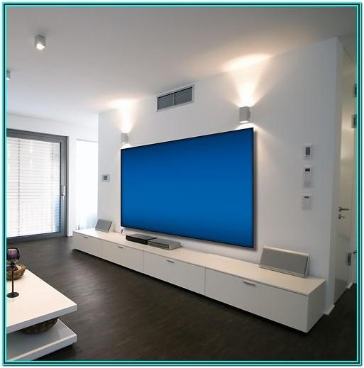 Living Room Projector Setup Ideas