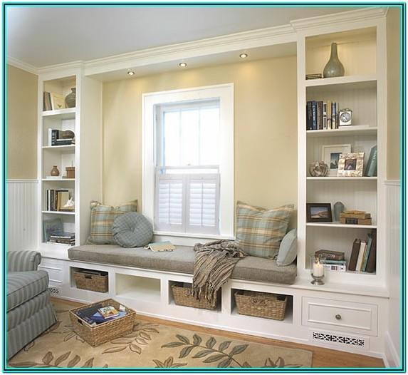 Living Room Reading Bench Ideas