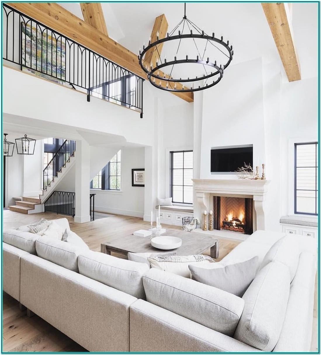 Living Room Rock Wall Ideas