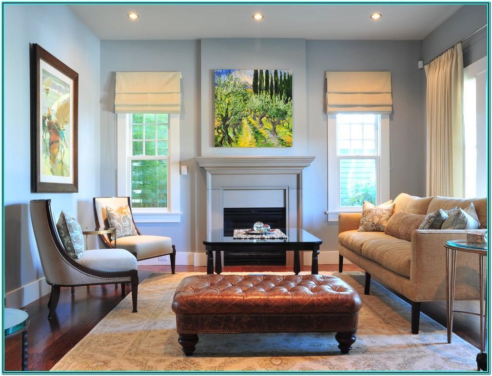 Living Room Roman Blind Ideas