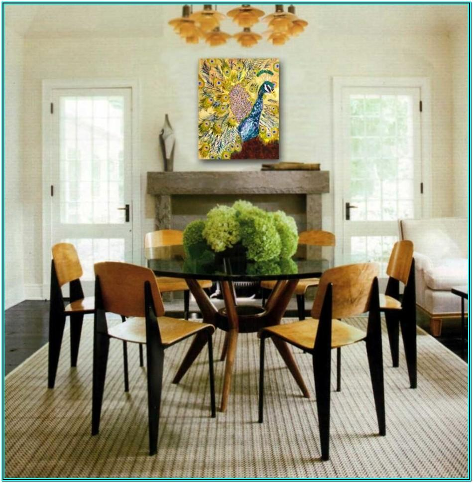 Living Room Round Table Centerpiece Ideas