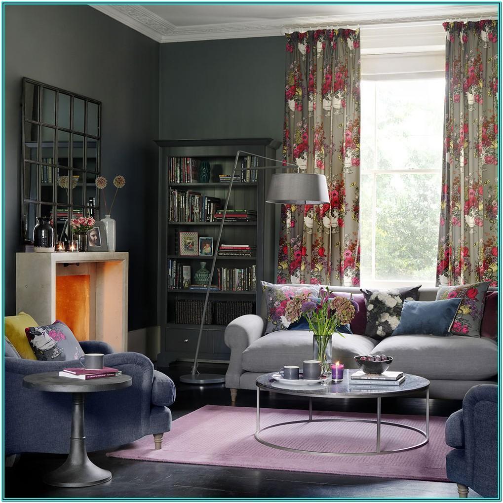 Living Room Setup Ideas With Gray
