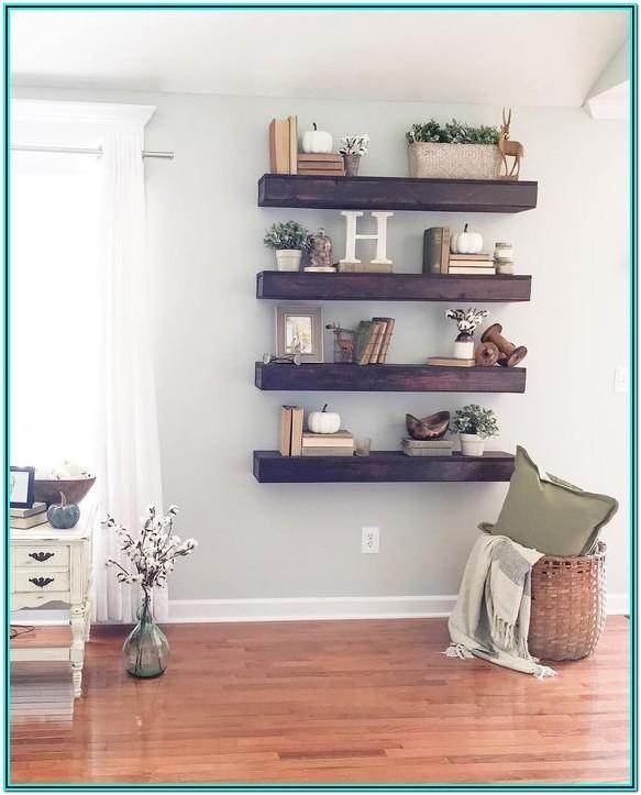 Living Room Shelf Ideas Pinterest
