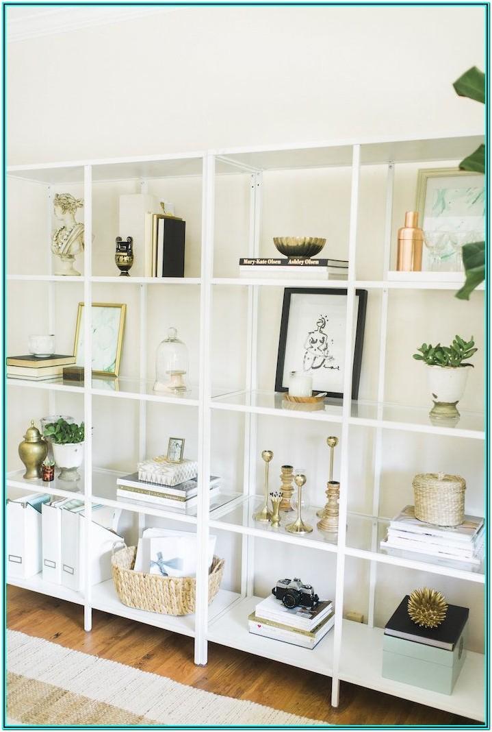 Living Room Shelving Desk Ideas
