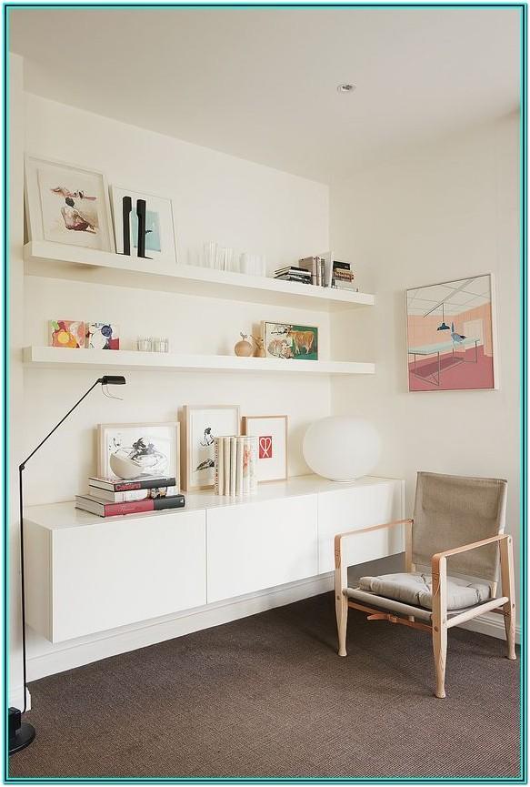 Living Room Shelving Display Ideas
