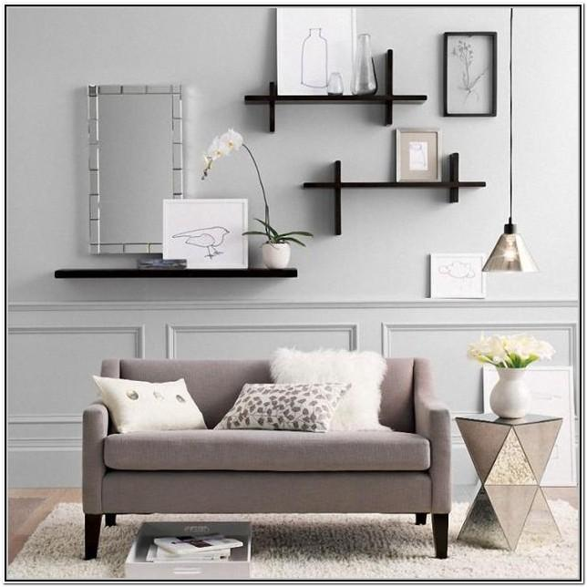 Living Room Wall Shelf Ideas