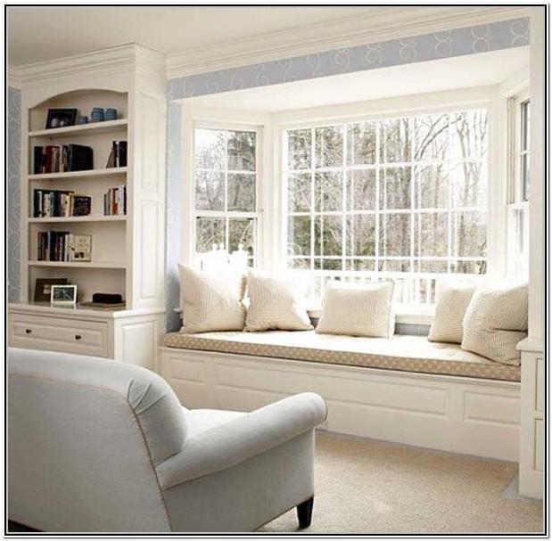 Living Room Window Bench Seat Ideas