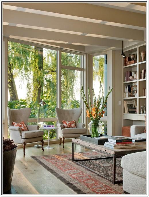 Living Room With Big Windows Ideas