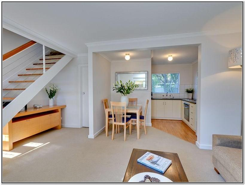 Living Room With Stairs Design Ideas
