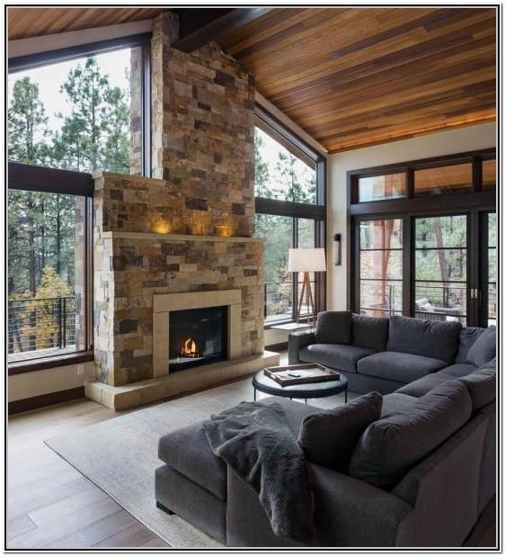 Living Room Wood Design Ideas