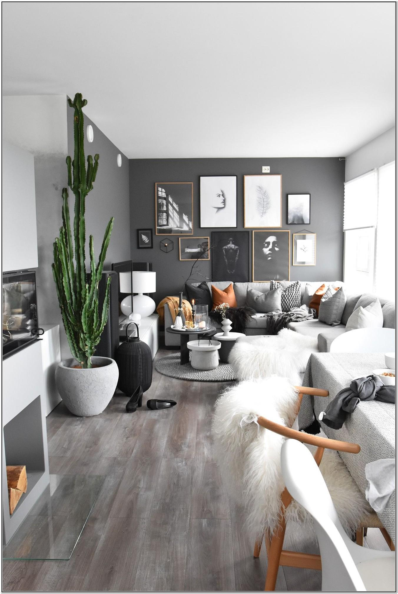 Living Rooms Ideas With Dark Gray Walls