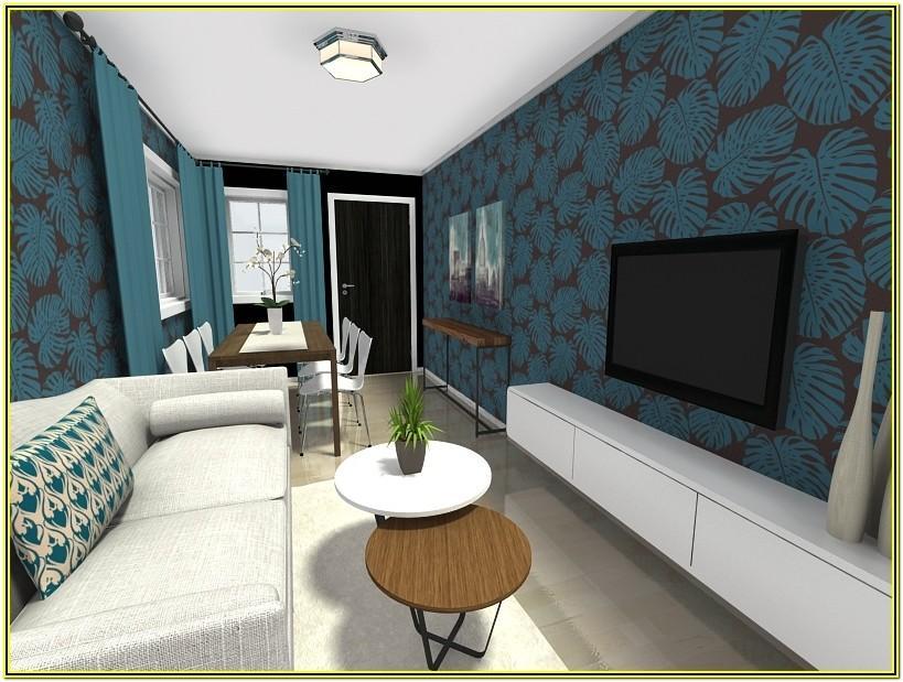 Long Blank Wall Ideas Foe Living Room