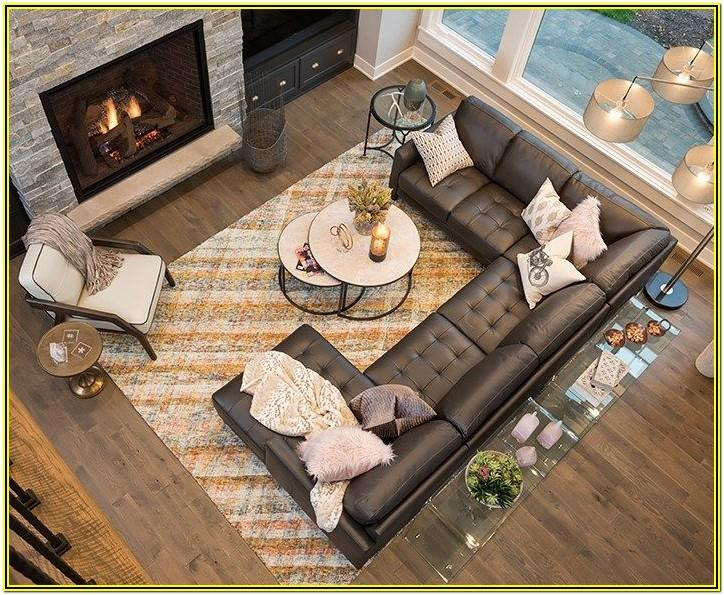 Lounge Living Room Ideas With Sectionals And Fireplace