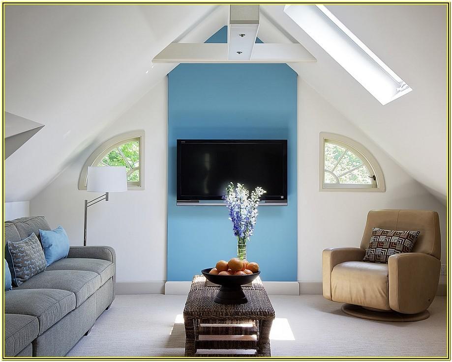 Low Ceiling Attic Living Room Ideas