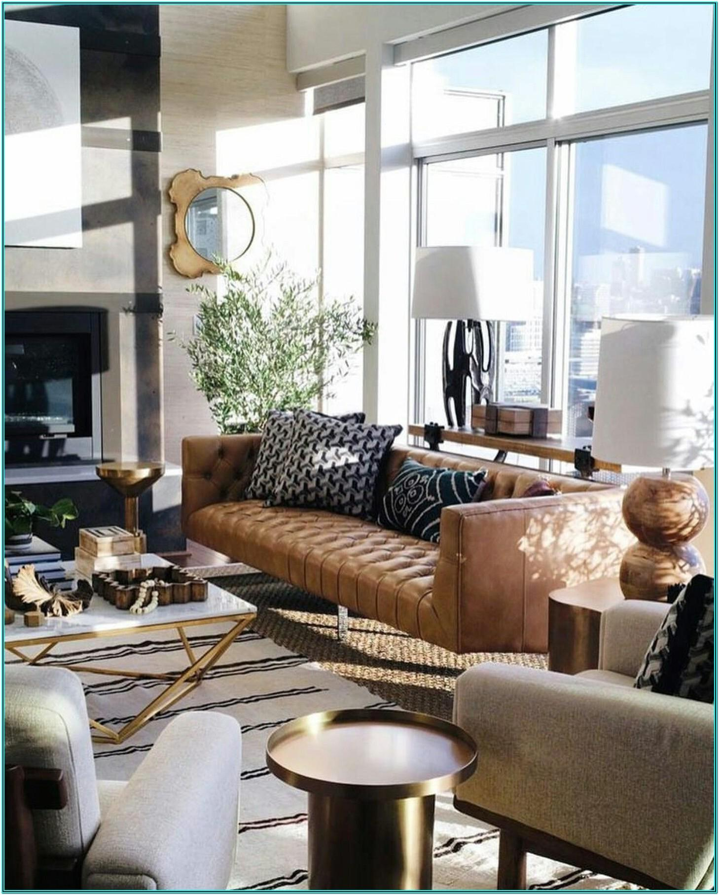 Masculine Mid Century Modern Living Room Ideas