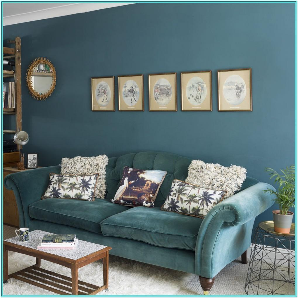 Midnight Blue And Grey Living Room Ideas