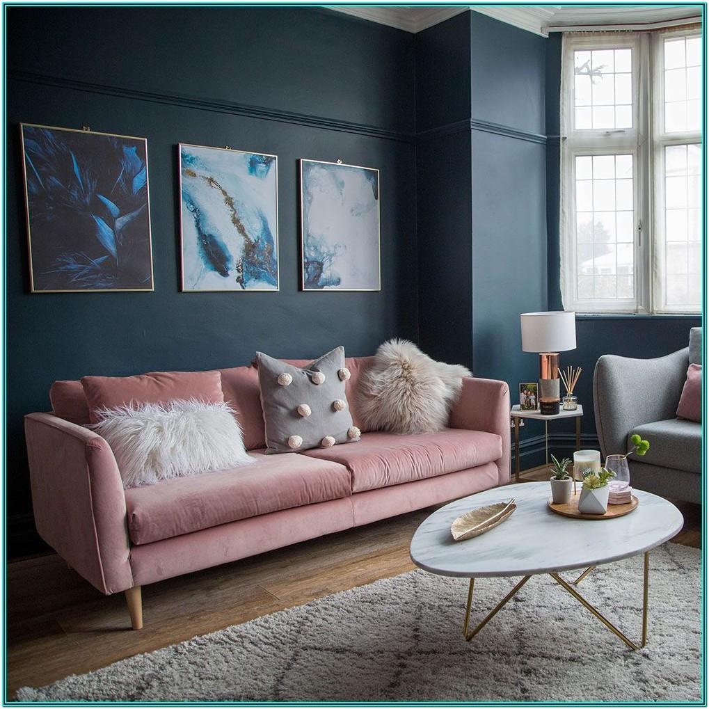 Midnight Blue Dark Blue Living Room Ideas