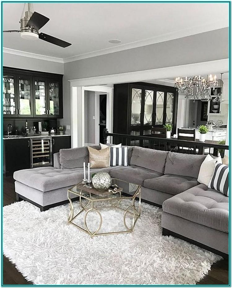 Mink And White Living Room Ideas