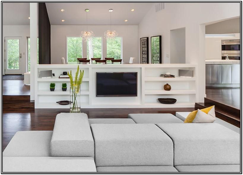 Mobile Home Living Room Half Wall Ideas