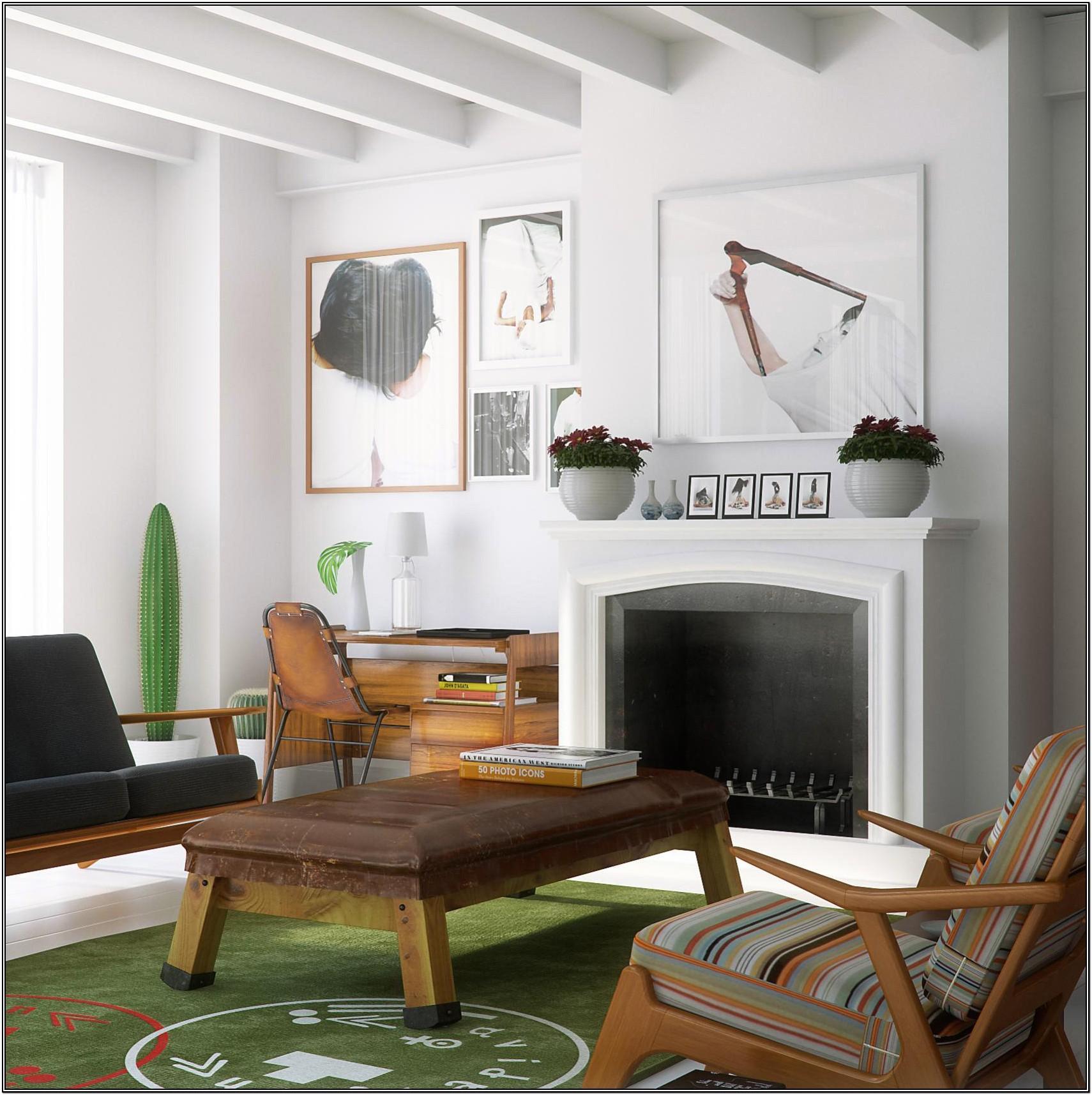 Modern Attic Living Room Ideas