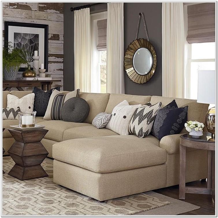 Modern Beige Leather Sofa Living Room Ideas
