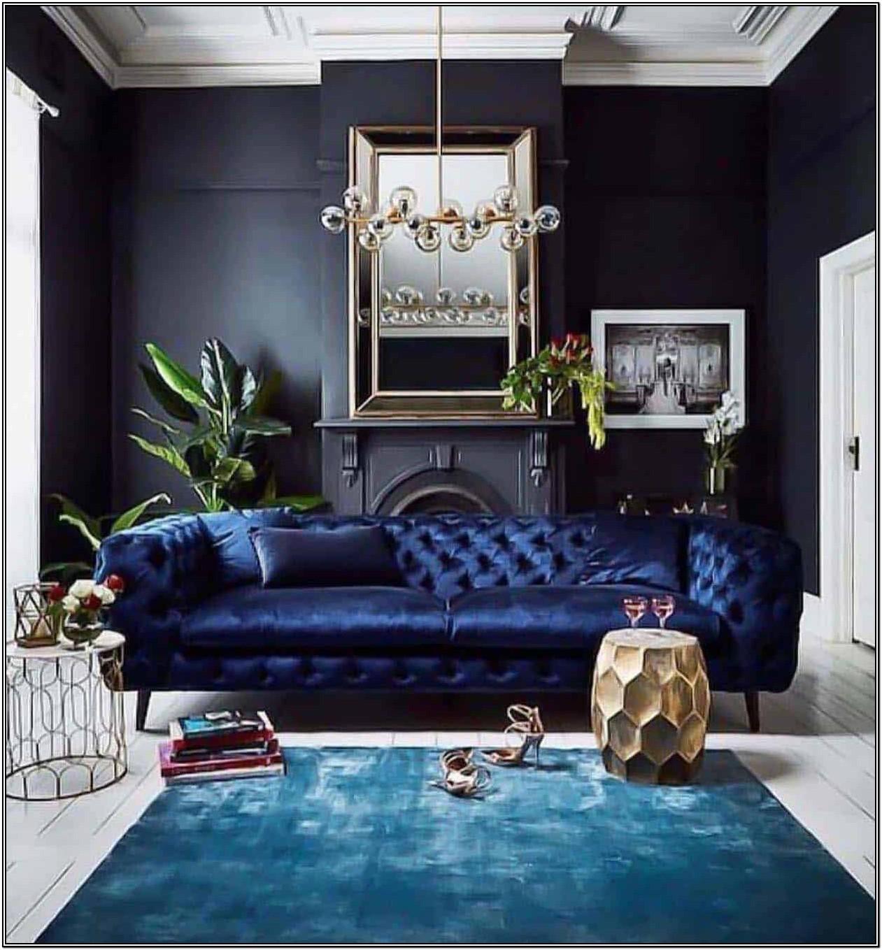 Modern Black Living Room Ideas