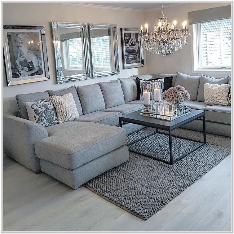 Modern Brown Corner Sofa Living Room Ideas