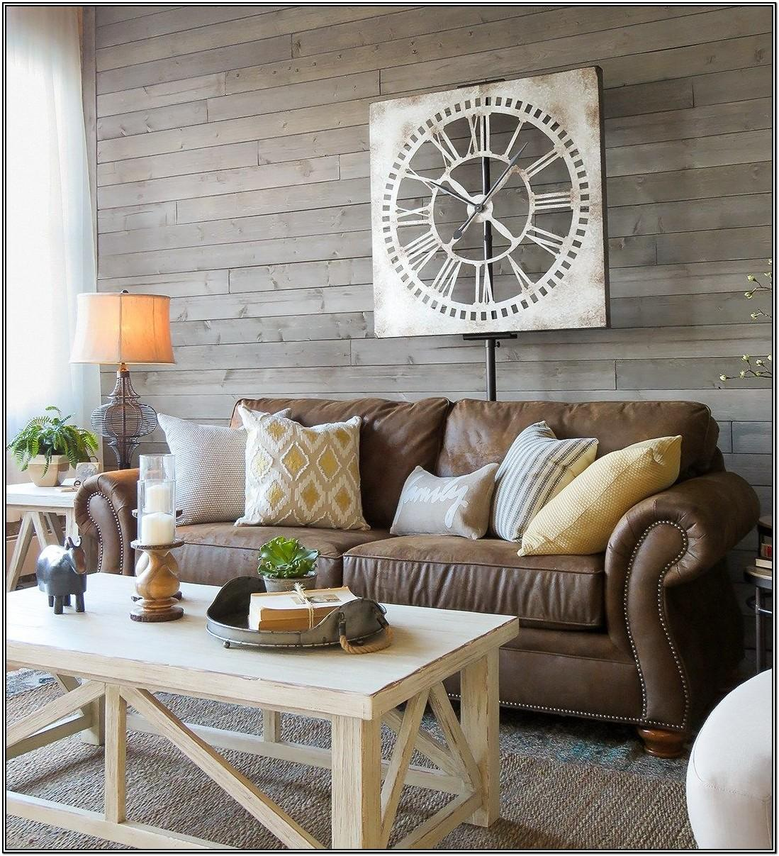 Modern Brown Sectional Living Room Ideas