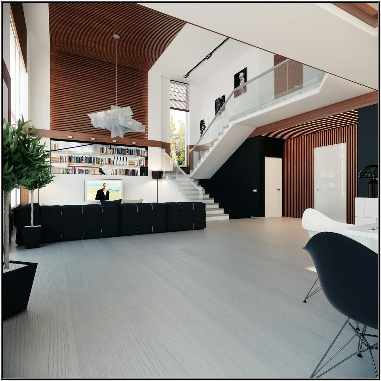 Modern Floating Living Room Ideas