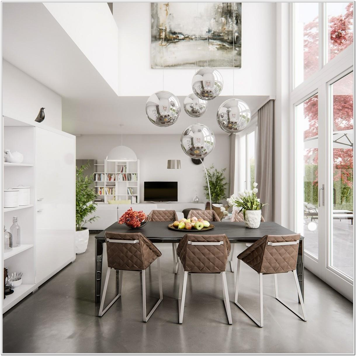 Modern Living Room And Dining Room Ideas