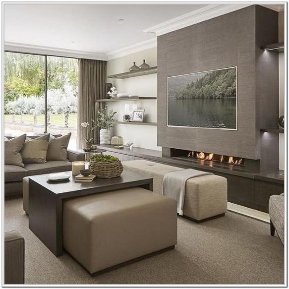 Modern Living Room Ideas Television