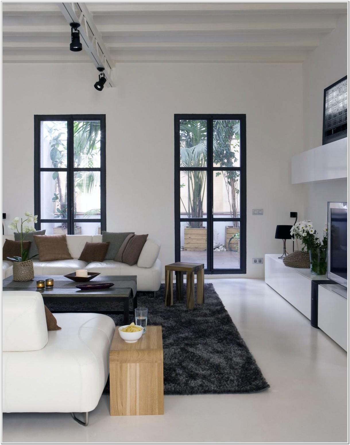 Modern Living Room Ideas White