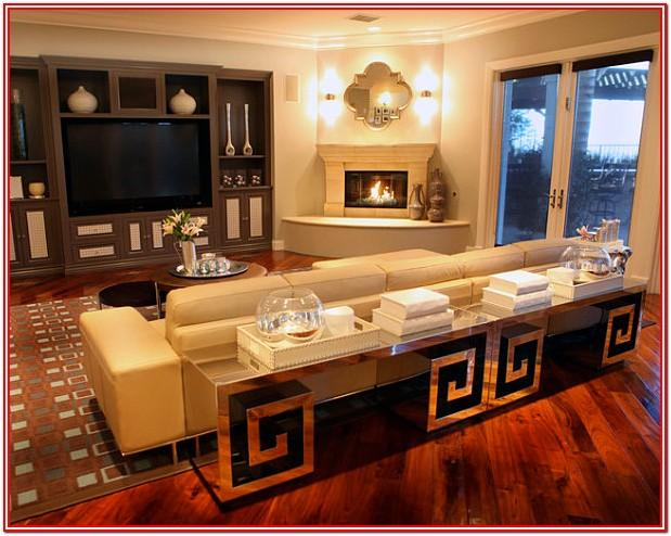 Modern Living Room Ideas With Corner Fireplace And Tv