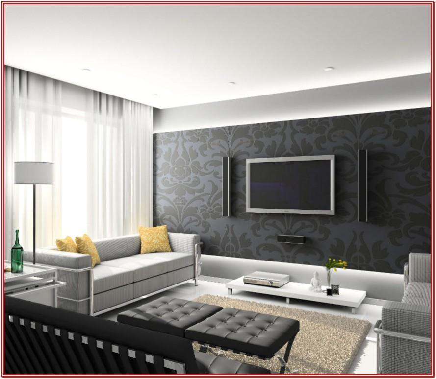 Modern Living Room Interior Modern Living Room Wall Design Ideas