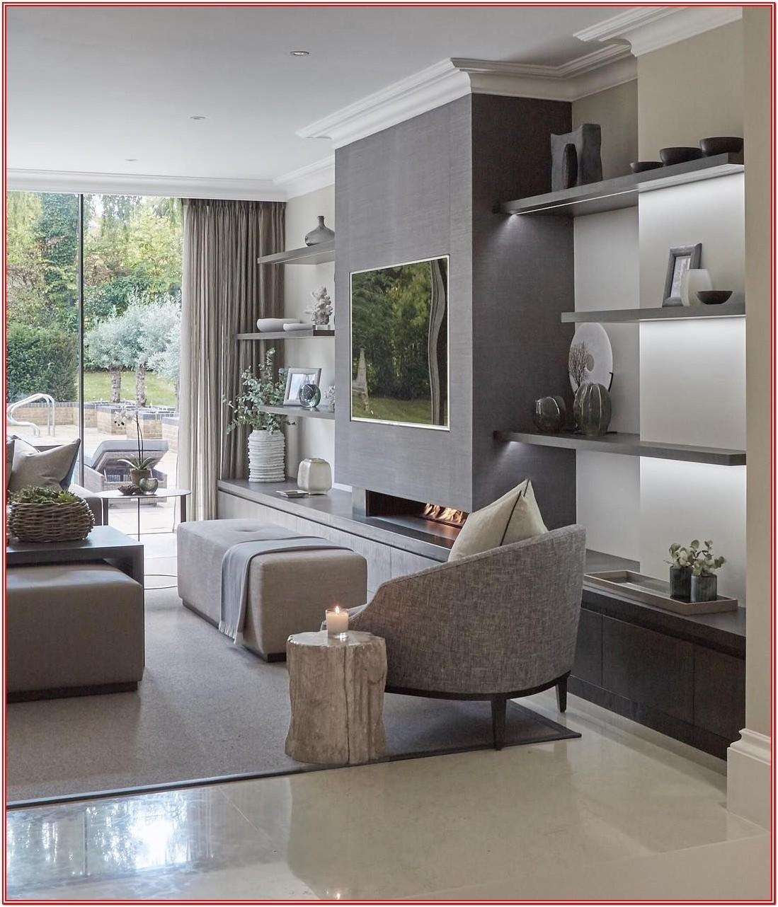 Modern Living Room Shelving Ideas