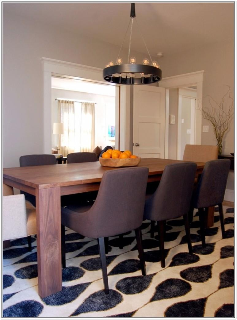 Modern Living Room With Dining Table Ideas