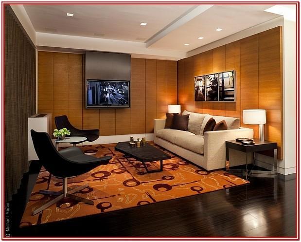 Modern Living Room Wood Wall Panel Ideas