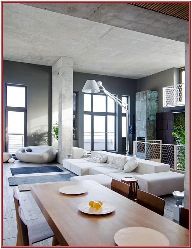 Modern Loft Living Room Ideas