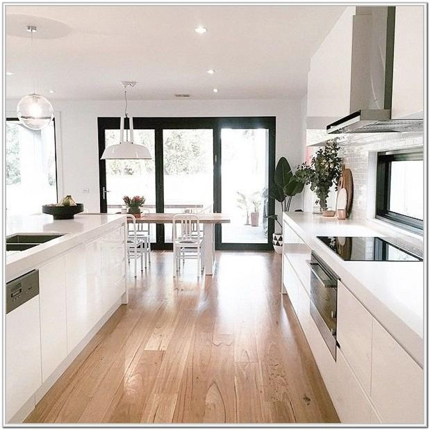 Modern Open Kitchen And Living Room Ideas