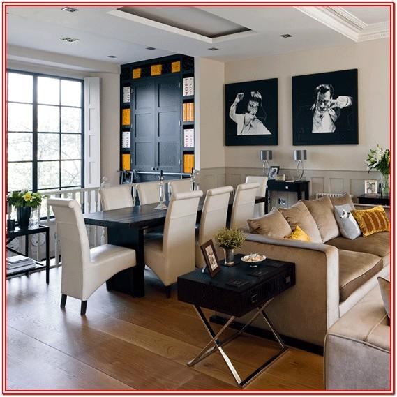 Modern Open Plan Dining And Living Room Ideas