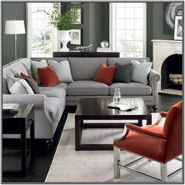 Modern Red And Gray Living Room Ideas