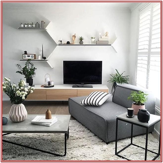 Modern Small Living Room Ideas With Tv