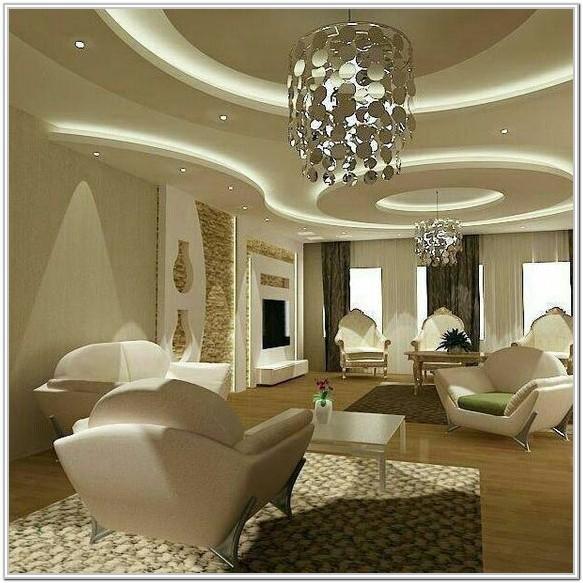Modern Style Modern Living Room Ceiling Lighting Ideas